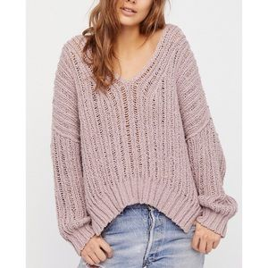 Free People Infinite Chunky Sweater M/L NWT